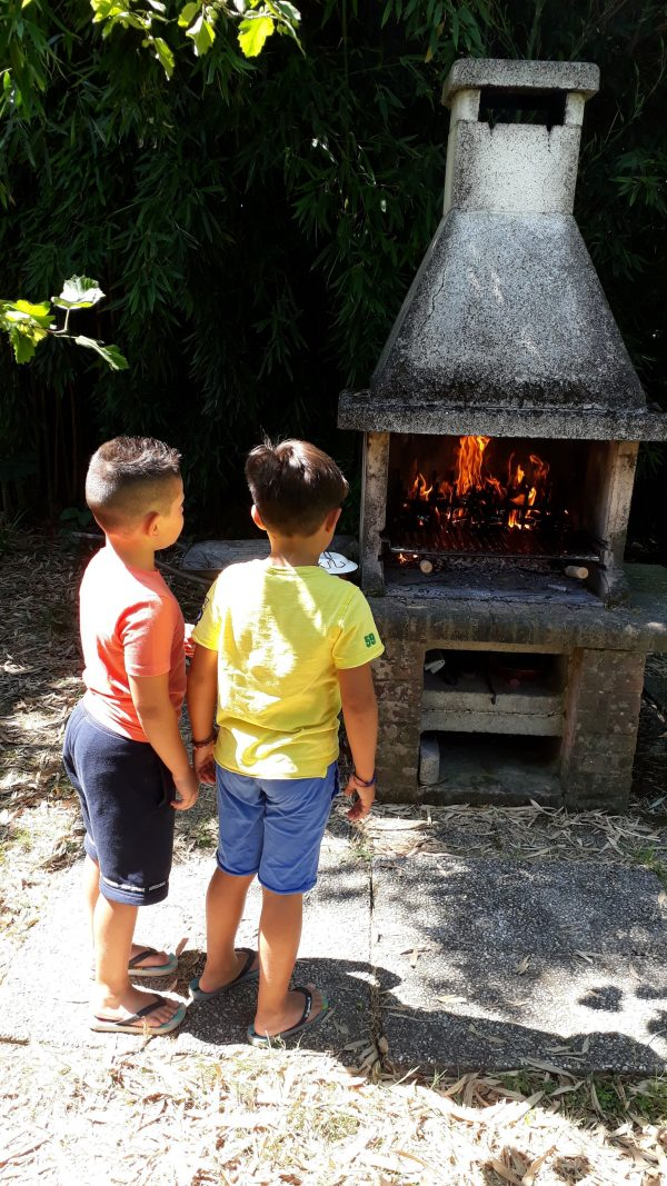 Barbeque in compagnia